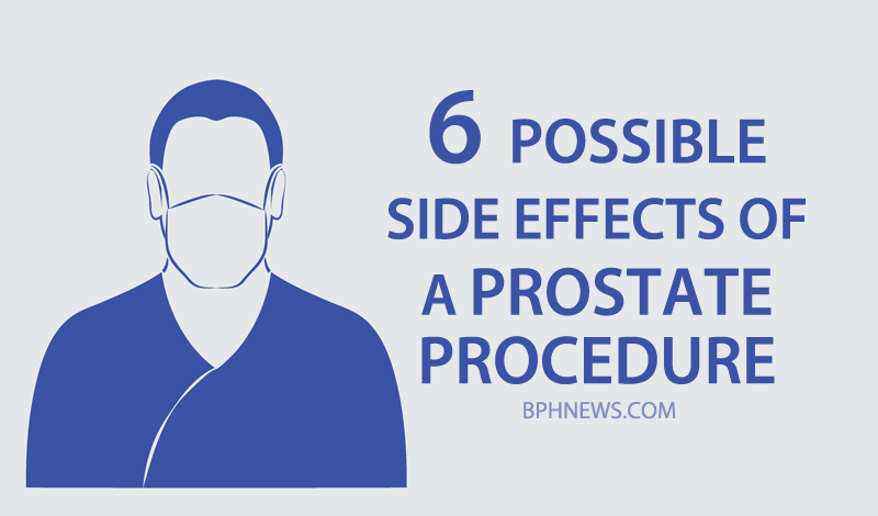 6 side effects prostate